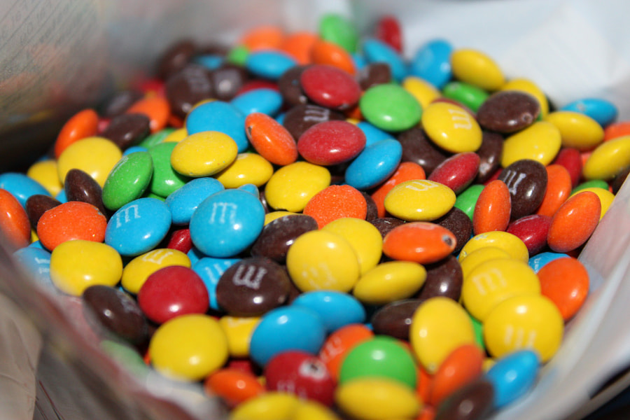 M&M's by Adem Catic on 500px.com