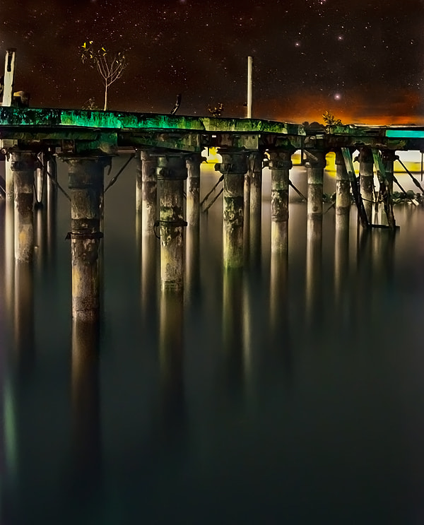 Photograph Old Jetty by lim theam hoe on 500px