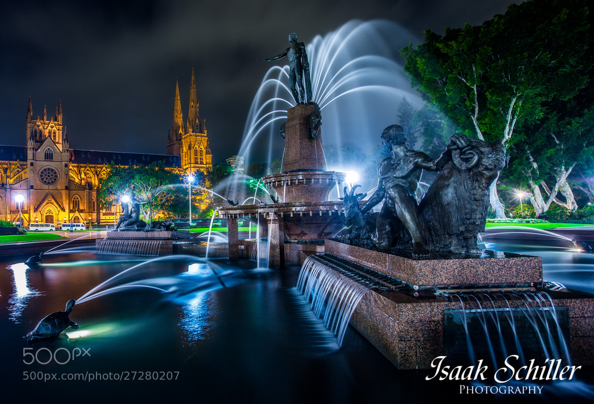 Photograph Sydney Fountain  by Isaak  Schiller on 500px