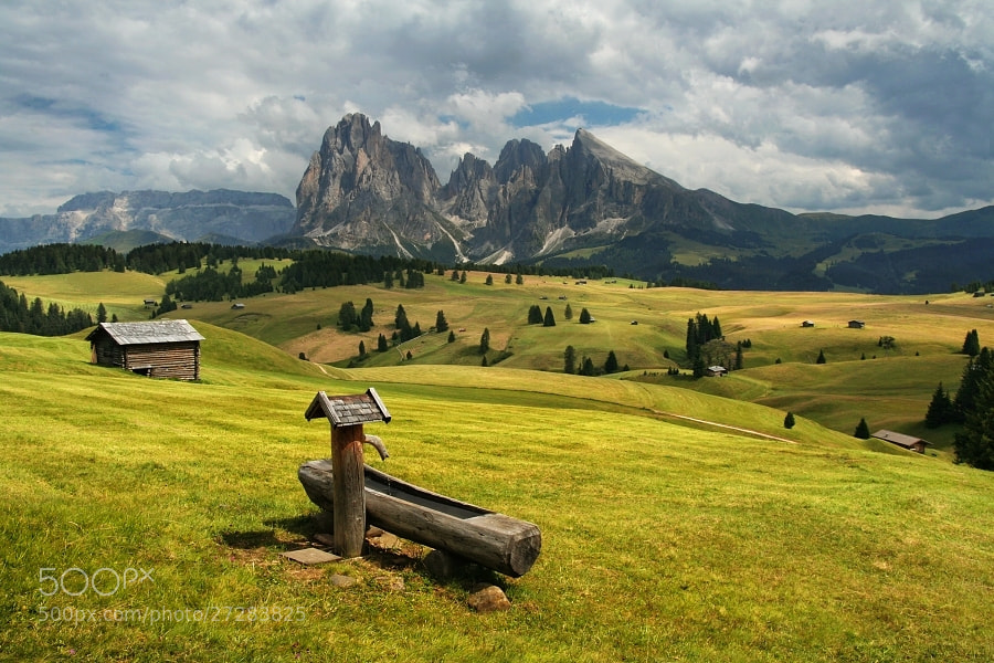 Photograph Alpe di Siusi by Daniel Řeřicha on 500px