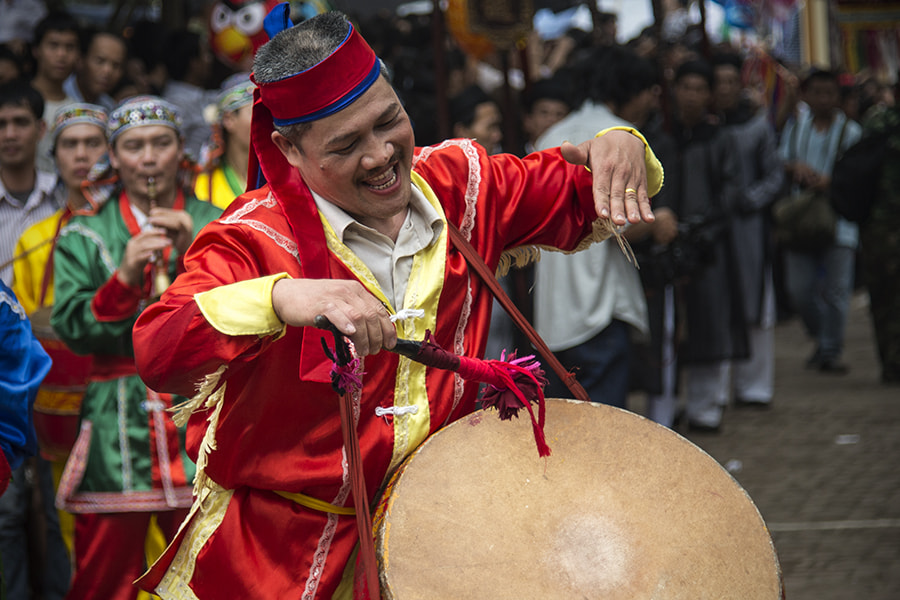 Photograph The drums in the village festival by Hai Thinh on 500px
