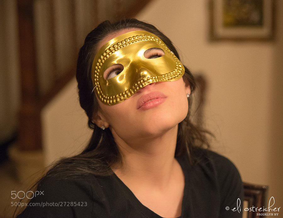 Photograph The Girl in a Mask by Eli Ostreicher on 500px