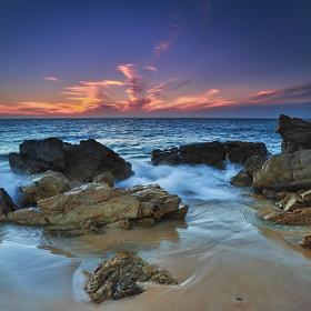 Sunset over Gulf St Vincent by kasand kasand (kasand)) on 500px.com