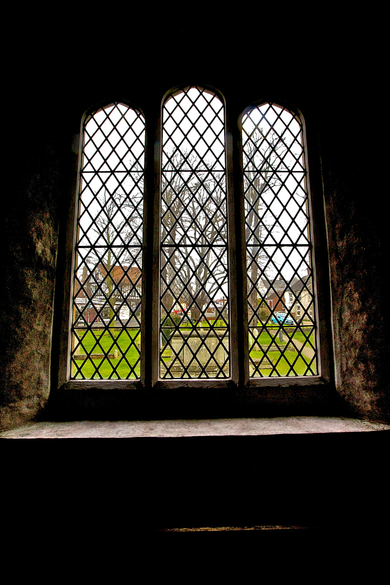 Photograph Looking Through The Church Window by Steve Lewis  on 500px