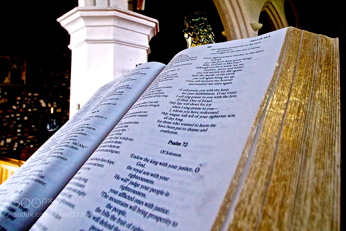 Photograph Pulpit Bible 09 by Steve Lewis  on 500px