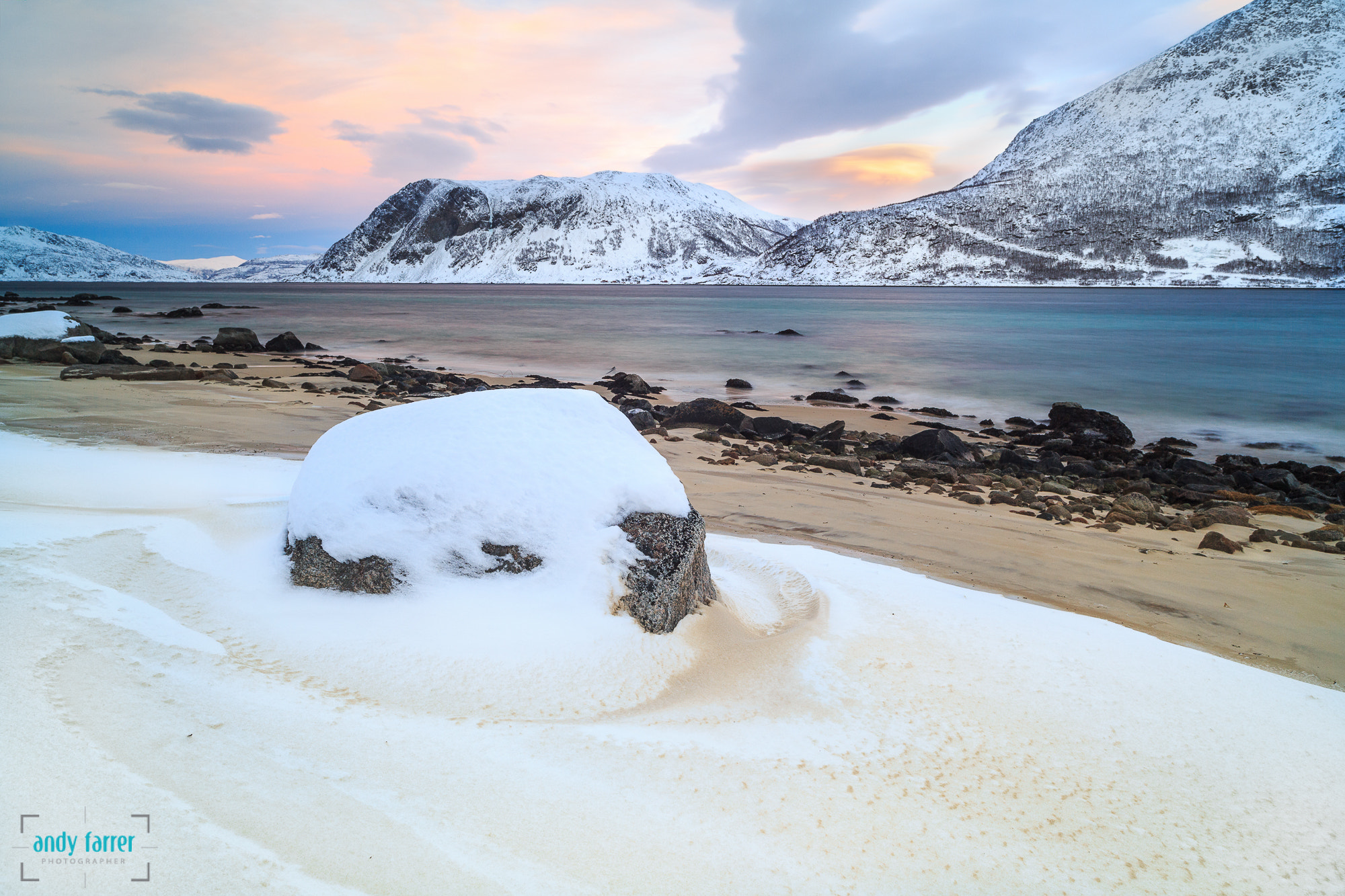 Photograph Snowy Rock by Andy Farrer on 500px