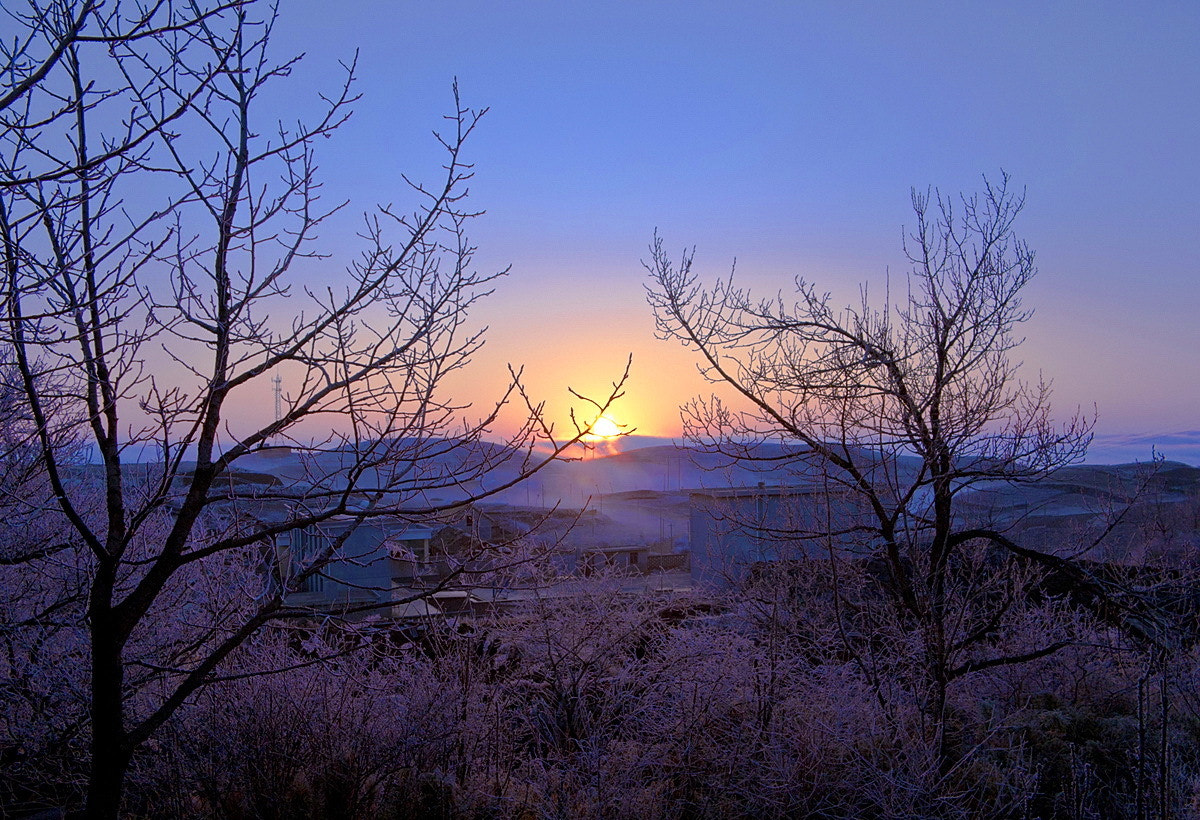 Photograph  山村的早晨 by wang feng on 500px