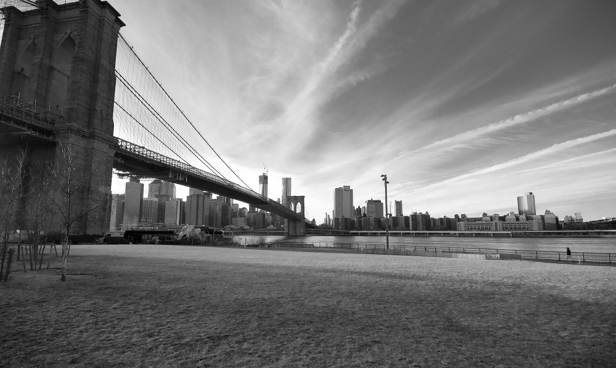 Photograph Brooklyn Bridge on Brooklyn Height (NYC) by Nabil BACHIR-CHERIF on 500px
