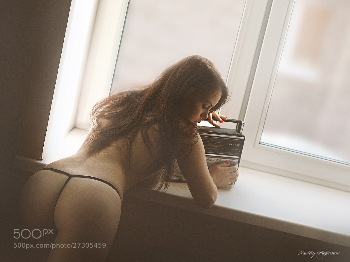Photograph Girl with old radio by Vasiliy Stepanov on 500px