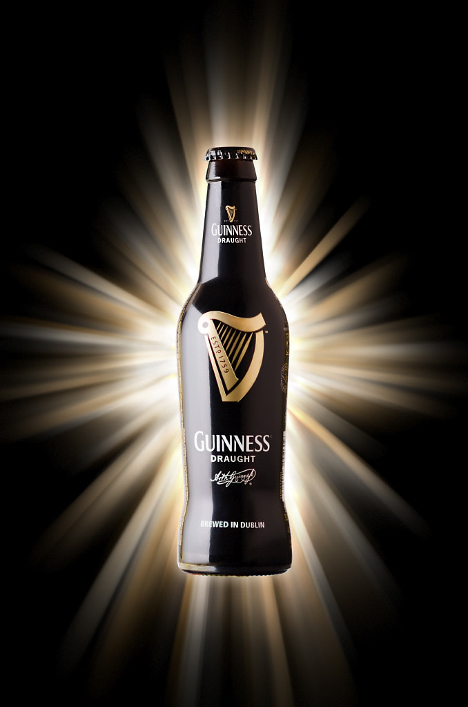Photograph Guinness bottle by Alberto Martinez on 500px