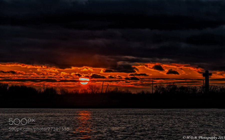 Photograph Great Ball Of Fire by Harold Begun on 500px