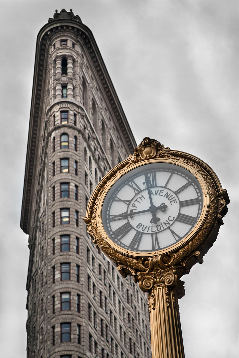 Photograph Flatiron... by Ludovic Nicaise on 500px