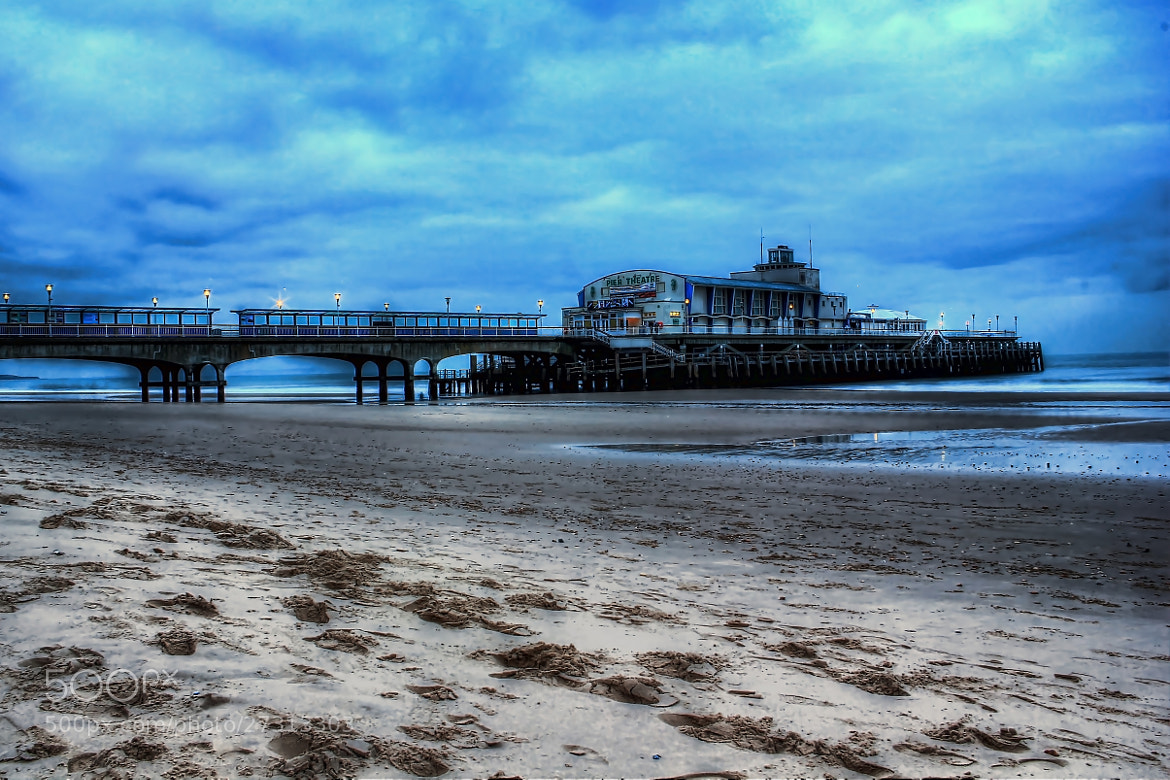 Photograph Cold Day at Bournmouth Pier by Tony Jones on 500px