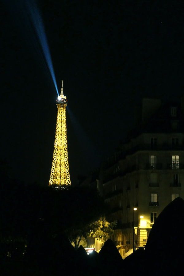 Paris, la nuit (Paris by night) de Christine Druesne sur 500px.com
