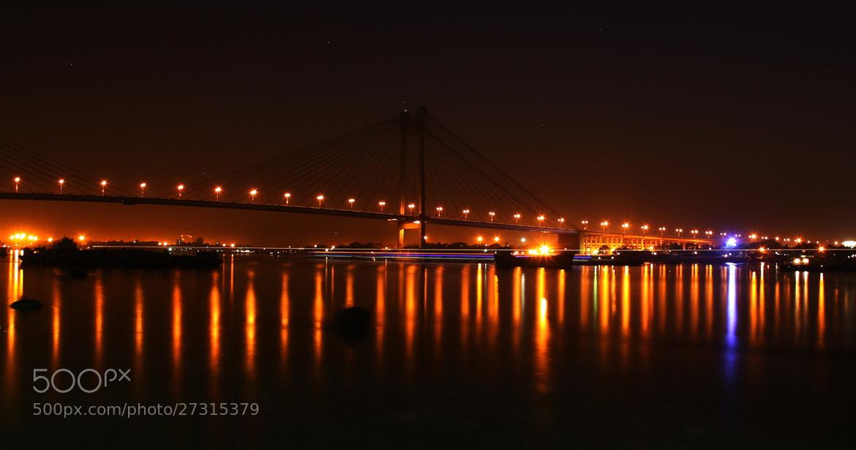 Photograph Vidyasagar Bridge by Pranab Ghosh on 500px