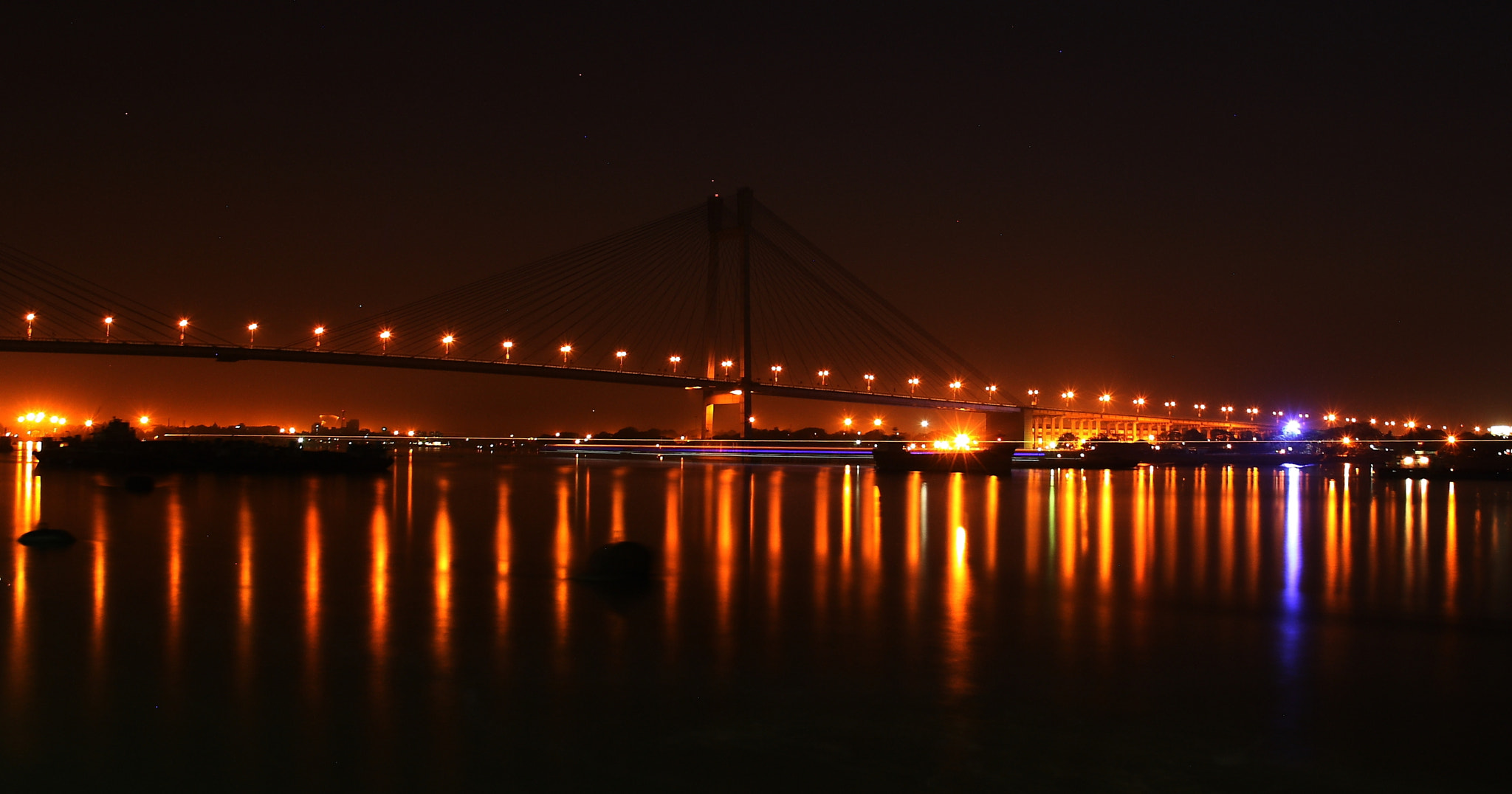 Photograph Vidyasagar Bridge by Pranab Ghosh on 500px