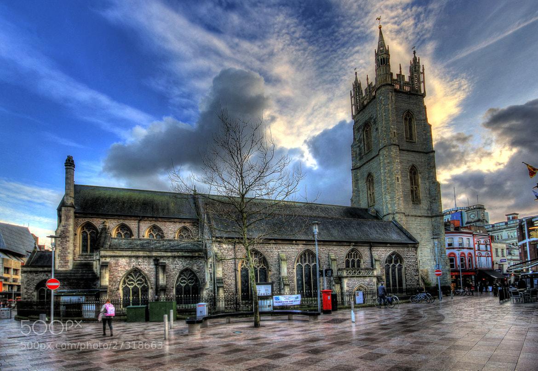 Photograph Cardiff Church  by Tony Jones on 500px