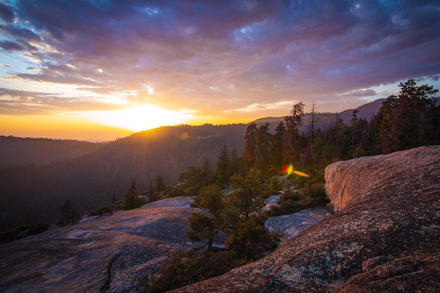 Sunset at Sunset Rock by sam wirch on 500px.com