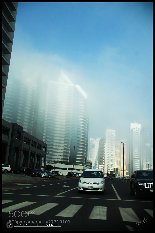 Photograph Dubai clouds & fog by Prakash singh on 500px