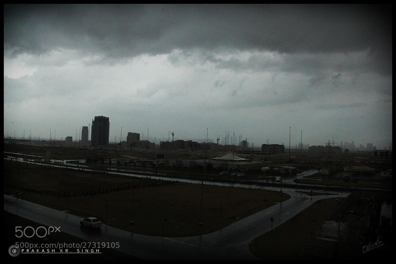 Photograph Rain in Dubai by Prakash singh on 500px