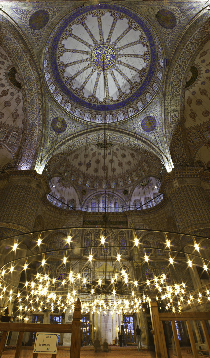 Photograph Dome of Blue Mosque  by Seren Özgür on 500px