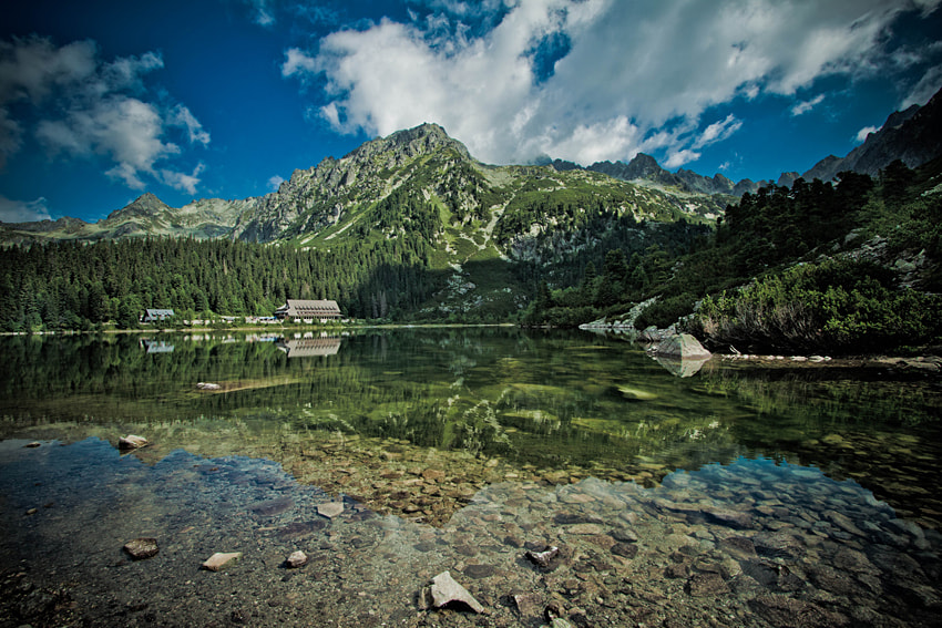 Photograph Popradské pleso by Tomasz Wieczorek on 500px