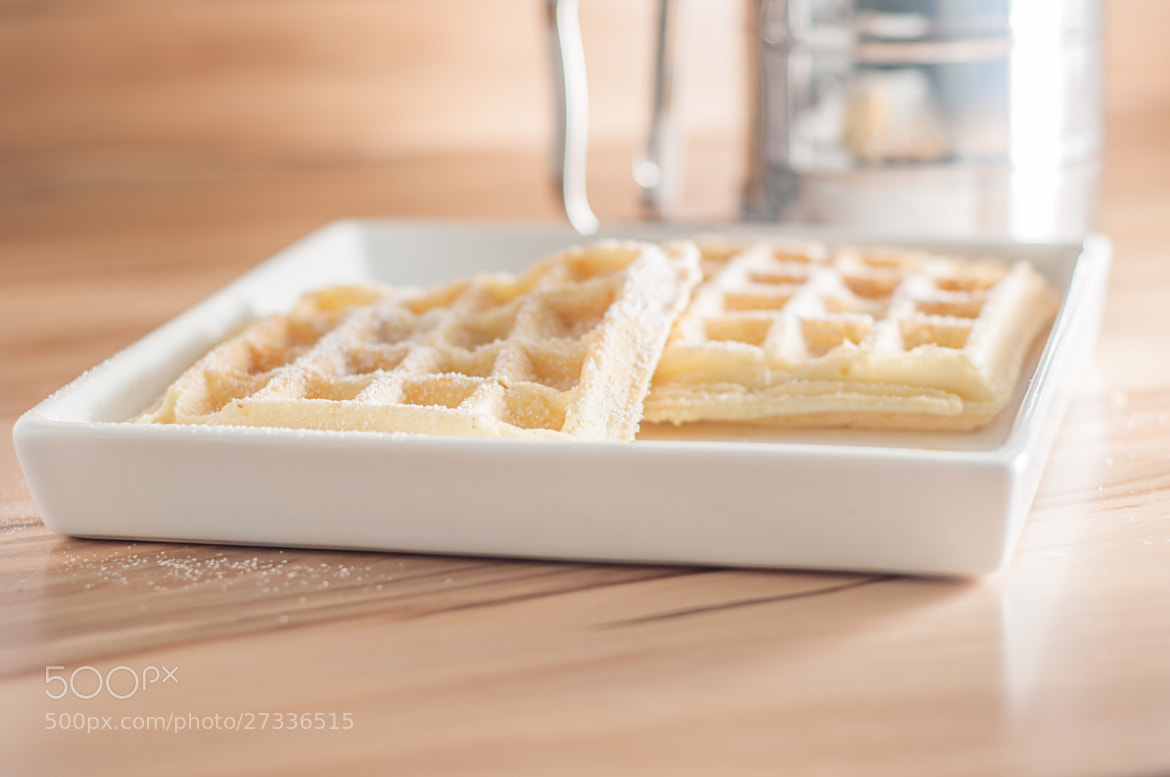 Photograph Waffeln by Karsten May on 500px