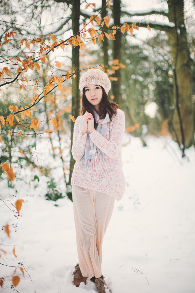 Photograph in the snow by Nicholas Lau on 500px
