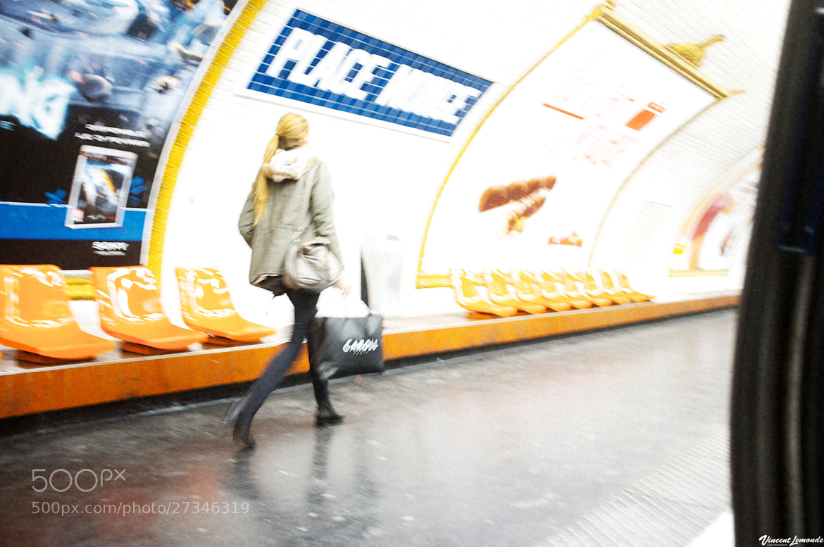 Photograph Metro Ligne 7 Paris - FRANCE by Vincent Lemonde  on 500px