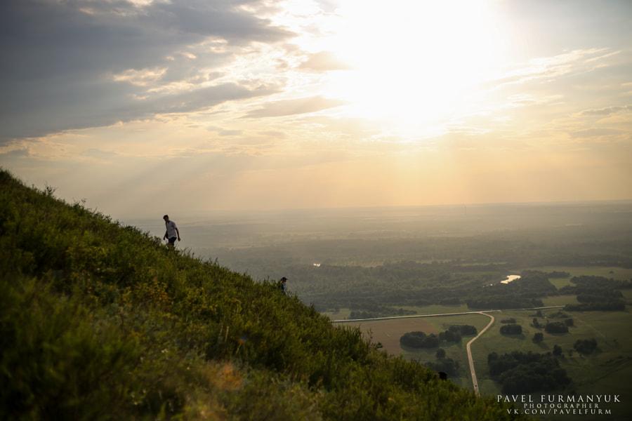 Mountain, hill, Russia, travel, trip, nature, sun, автор — Pavel Furmanyuk на 500px.com