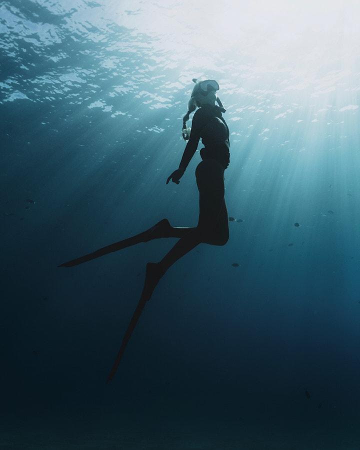 """Angel of the sea"", автор — Chun Chau на 500px.com"