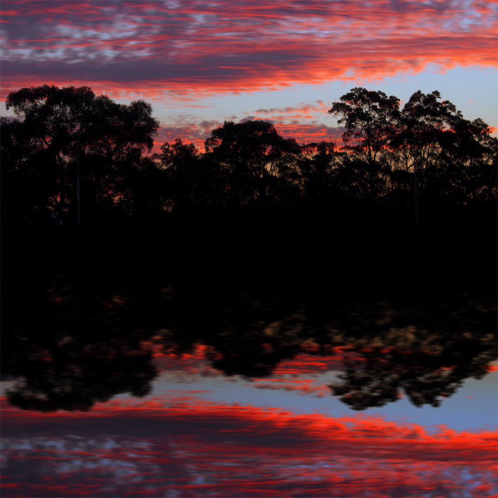 Photograph Fluorescent Skies    NEPEAN RIVER by Rhys Pope on 500px