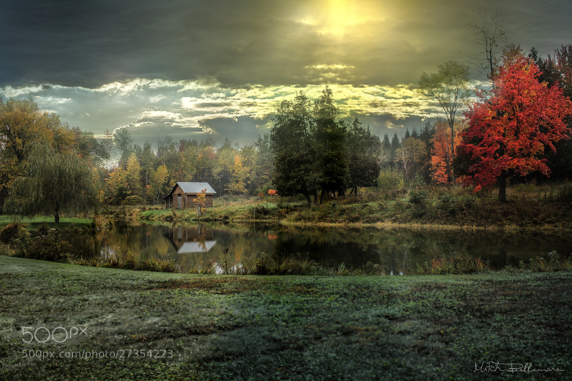 Photograph Little house near the lake by Michel Bellemare on 500px