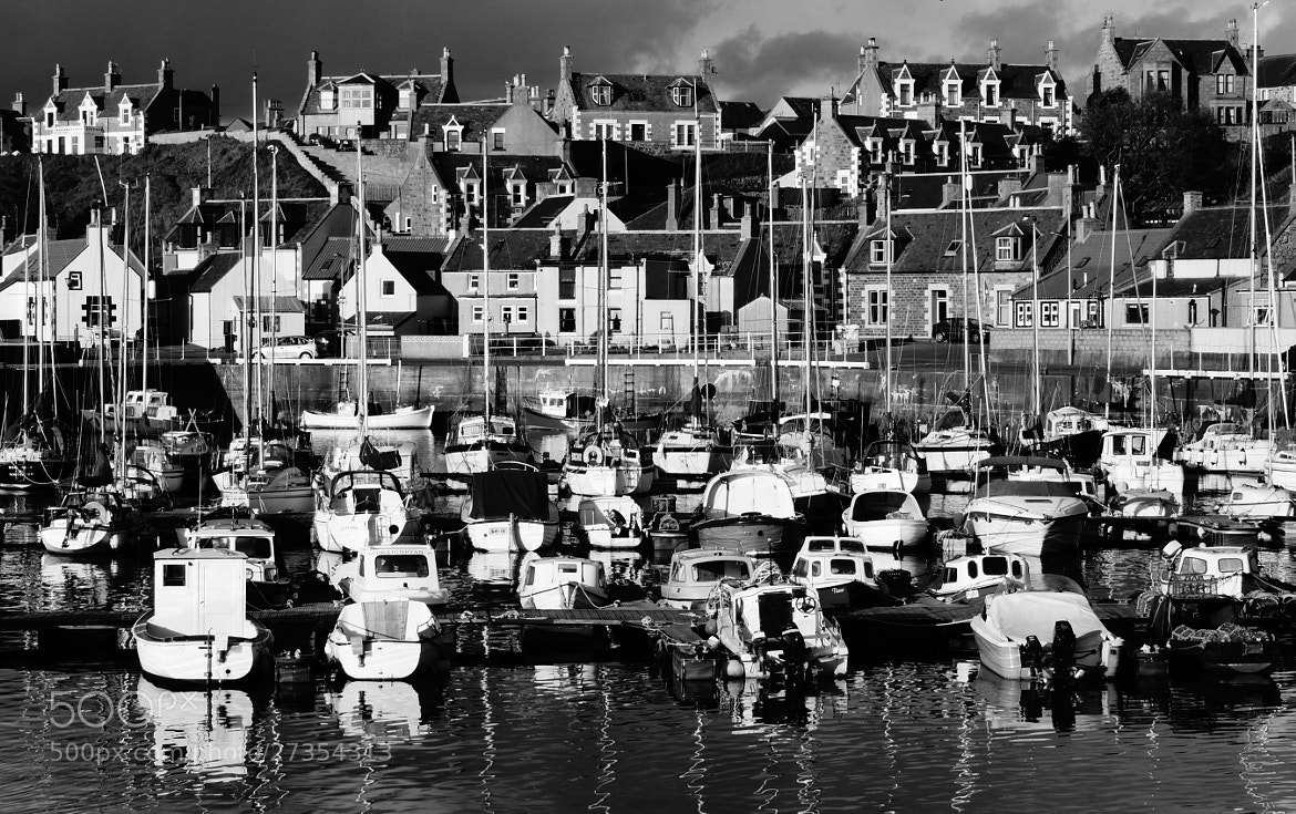 Photograph Findochty Harbour. by Spey Images on 500px