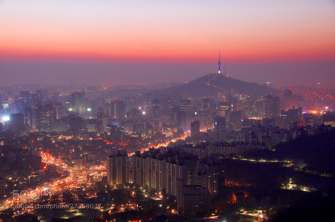 Photograph Seoul Sunrise by Robert Koehler on 500px