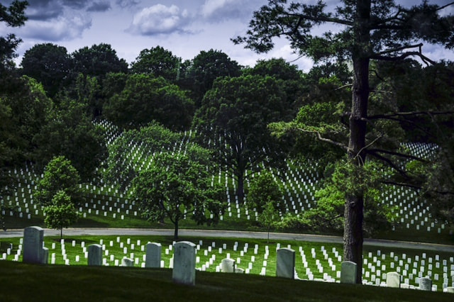 Photograph Arlinton National Cemetary by Mark Mathison on 500px