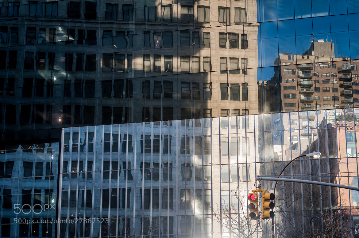 Photograph Reflection at Astor Place 2 by Kurt Nelson on 500px