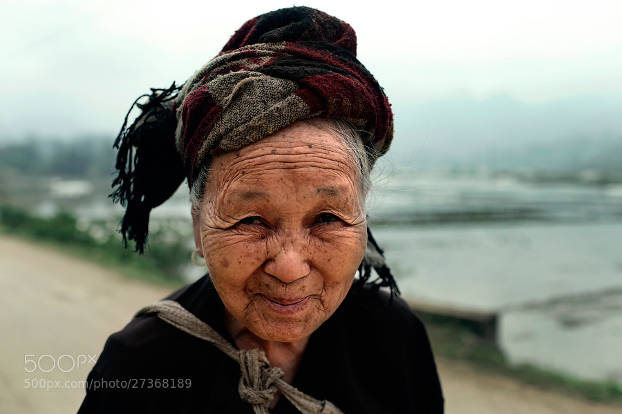 Photograph Rice grandma by Mark Podrabinek on 500px
