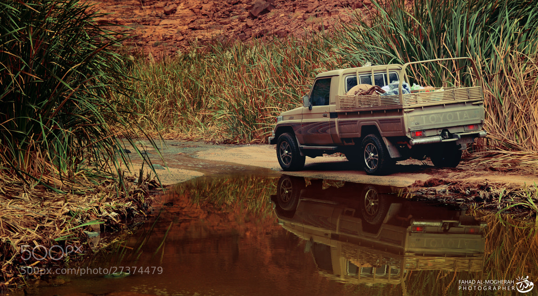 Photograph Reflection In Deesah Wadi by Fahad Al Mogheerah on 500px