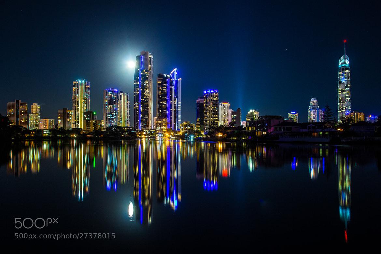 Photograph Blue Moon by Glenn Court on 500px