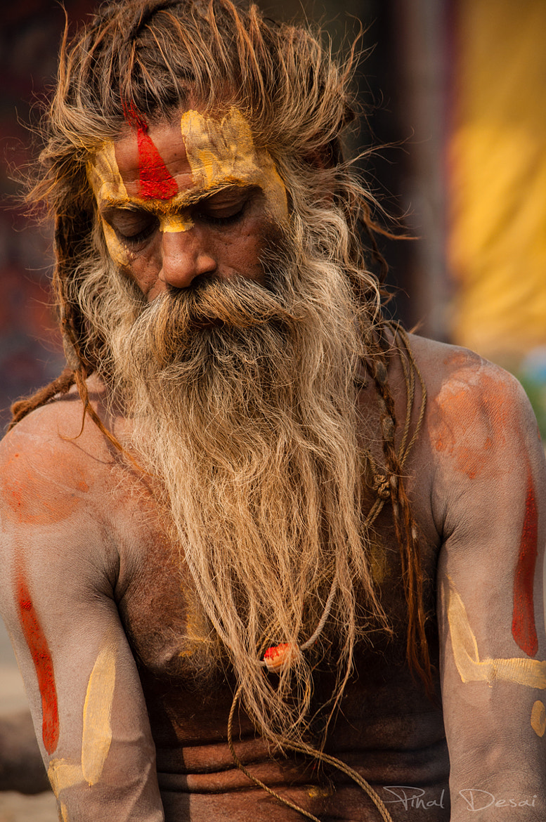 Photograph The Sadhu in Meditation   by Pinal Desai on 500px