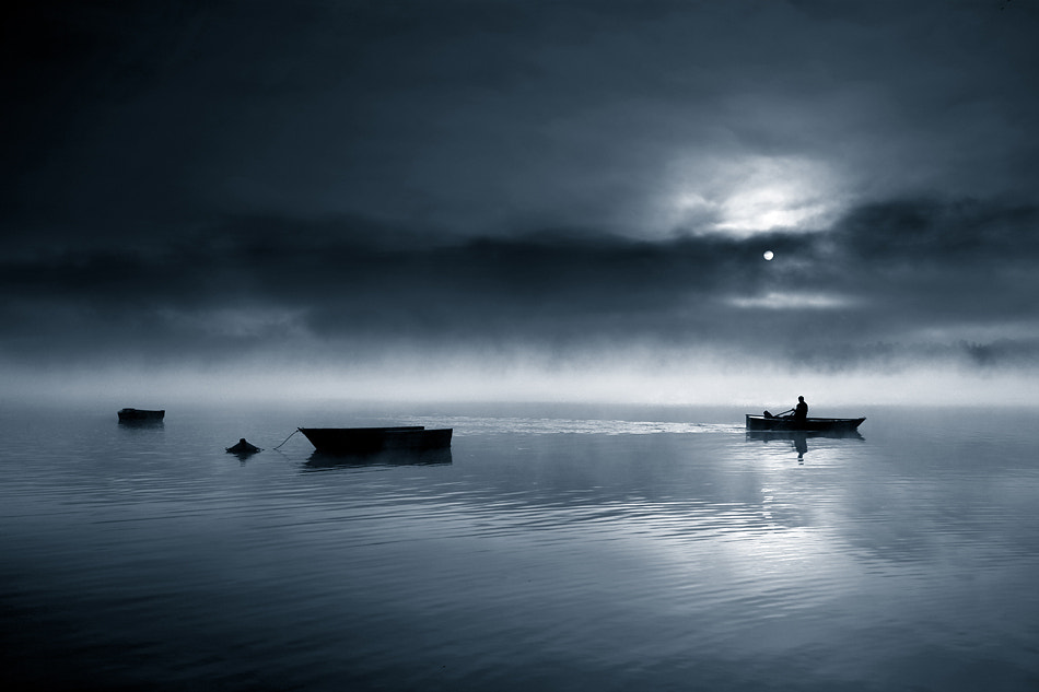 Photograph In darkness by Marcin Sobas on 500px