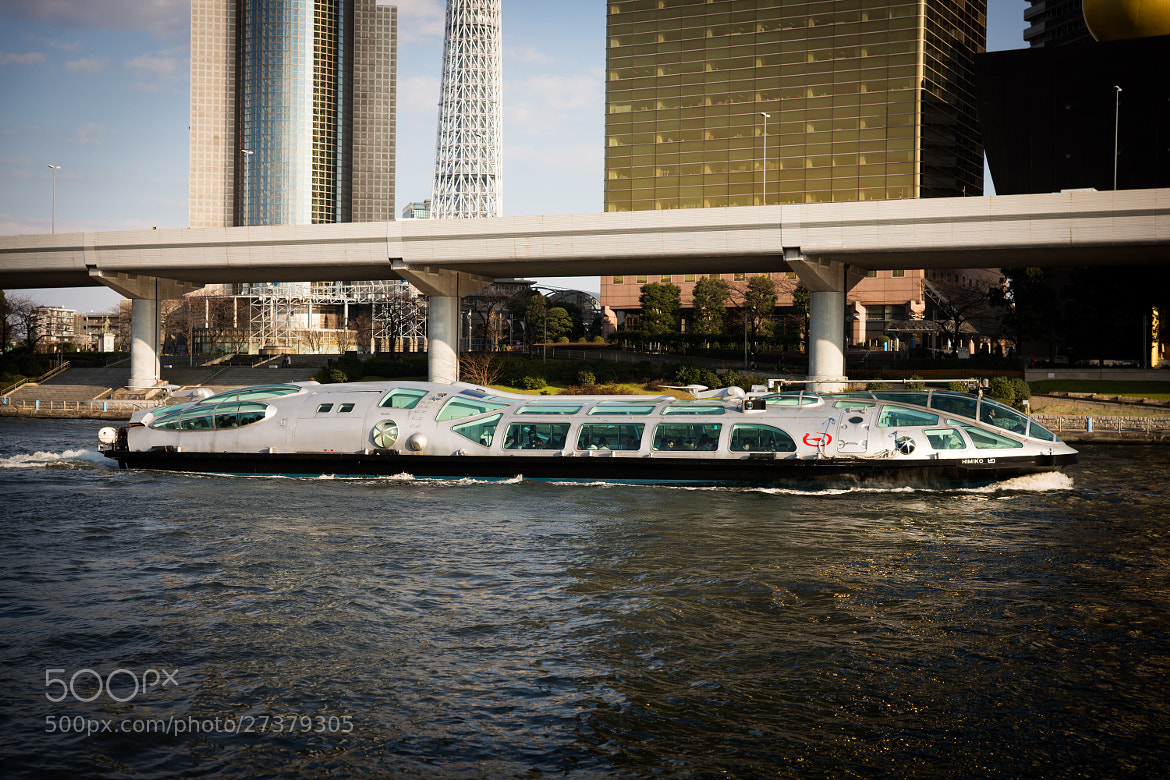 Photograph Sumida River Cruise by marbee .info on 500px