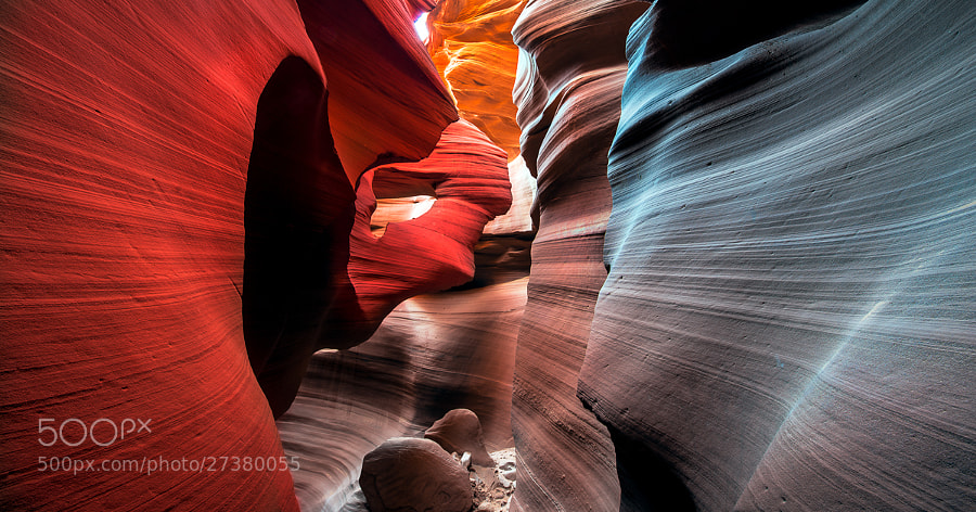 Photograph Antelope Canyon, the ring by Ali Erturk on 500px