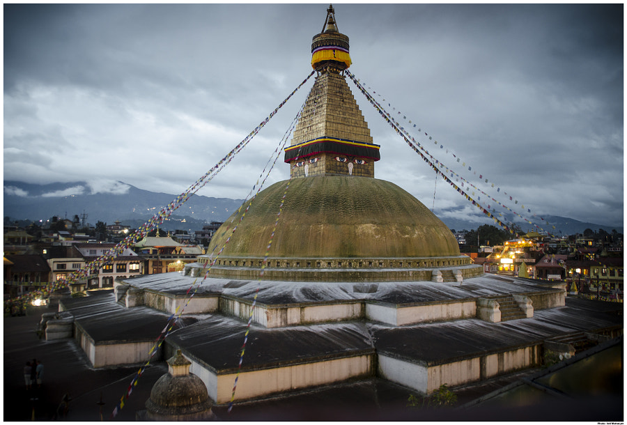 Boudhanath Stupa by Anil Maharjan / 500px   @500px