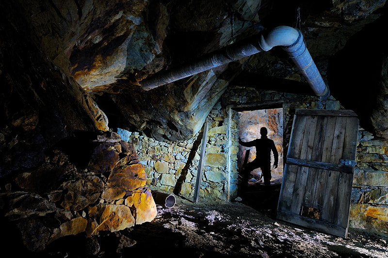 Photograph Inside the mine by Marco Barone on 500px