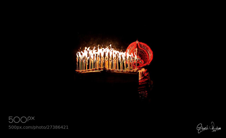 Photograph Vathivanoor Veeran Theyyam by Ganesh Payyanur on 500px