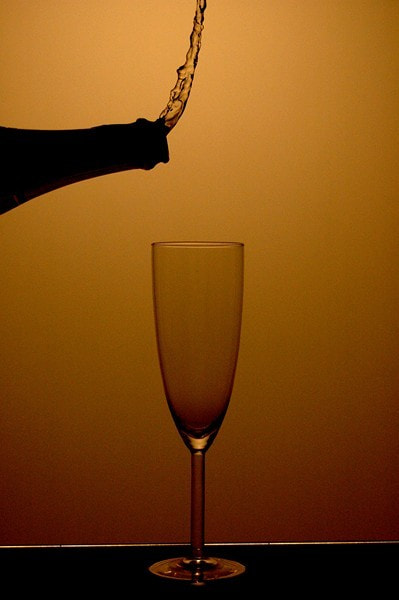 Photograph Champagne Gravity by sander chauvel on 500px
