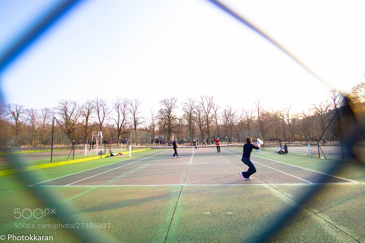 Photograph Tennis on a sunny day by Photokkaran PK on 500px