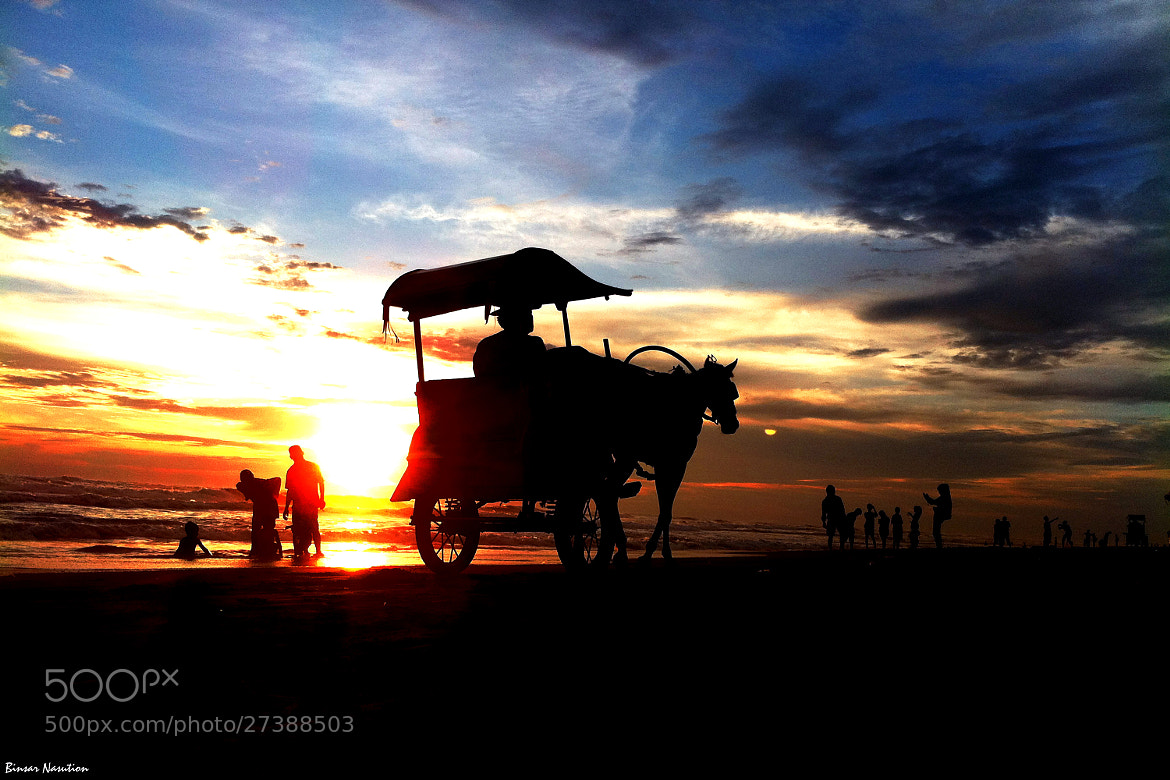 Photograph Horse-Drawn Carriage by Binsar Nasution on 500px